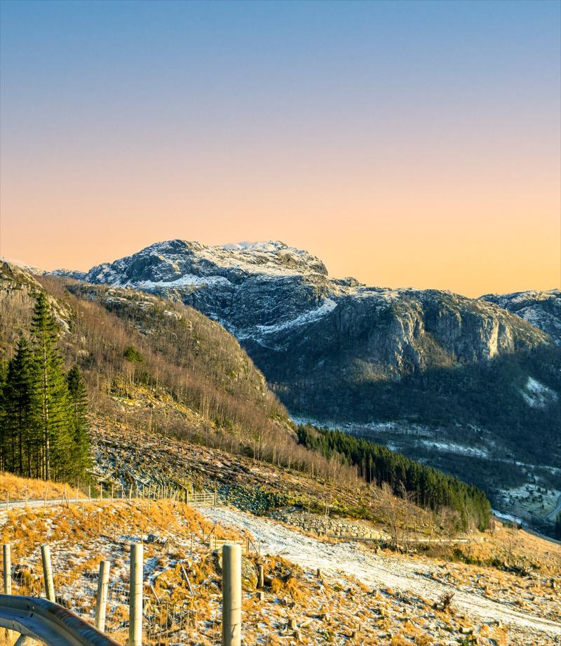 Dalane mountain views